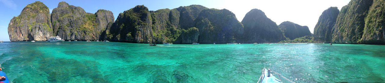 Thailand Koh Phiphi Beauty In Nature Island