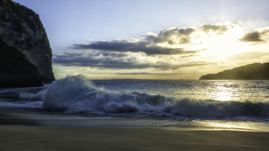 Big waves at