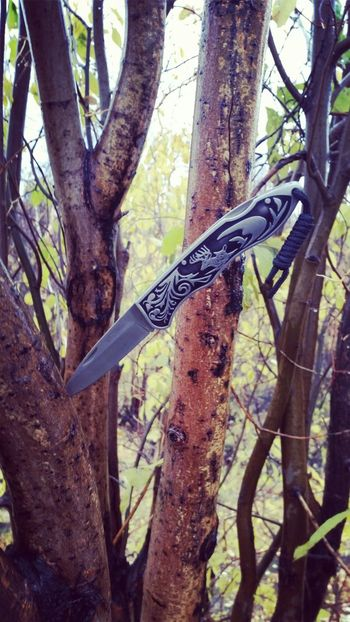 Ciervo Knife First Eyeem Photo Wood