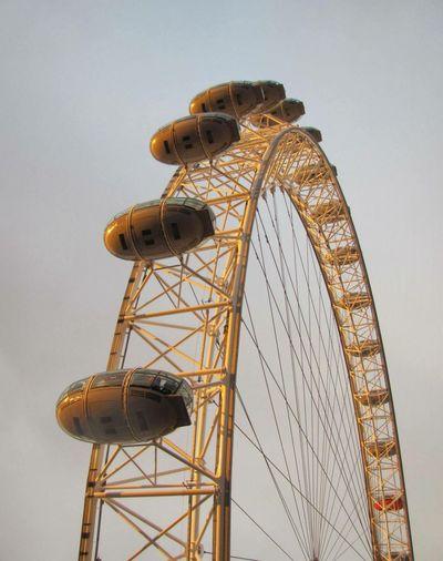 Art Is Everywhere Photographyisart LondonEye Pinwheel High Sky