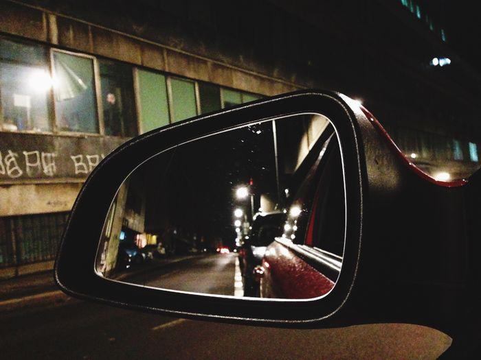 Mirror Car Wphotography EyeEm Best Edits EyeEm Best Shots Photography Night Lights Streetphotography Art View