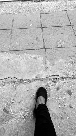 Step By Step Blackandwhite Photography Cracks In The Pavement