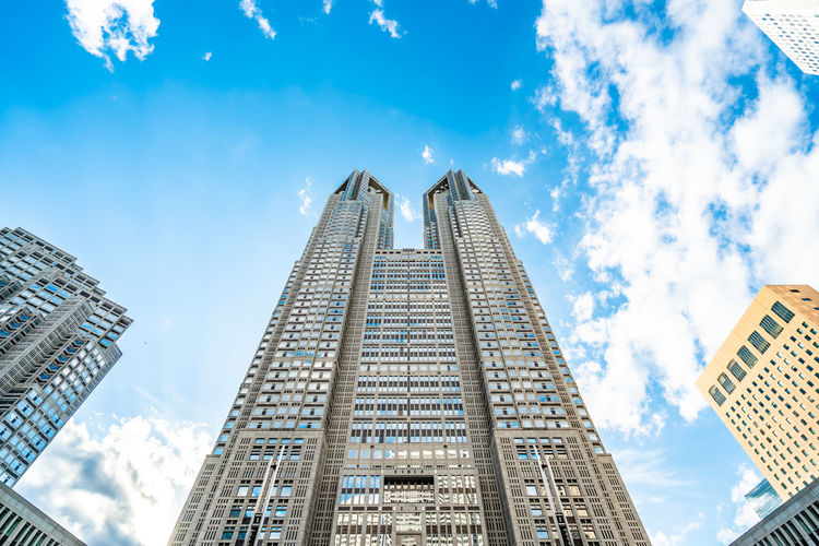 Architecture Built Structure Building Exterior Sky City Building Office Building Exterior Cloud - Sky Tall - High Low Angle View Skyscraper Tower Modern Travel Destinations No People Nature Office Outdoors Day Cityscape Financial District