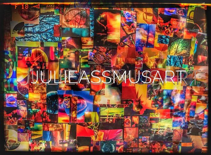 Full frame shot of multi colored for sale at street market