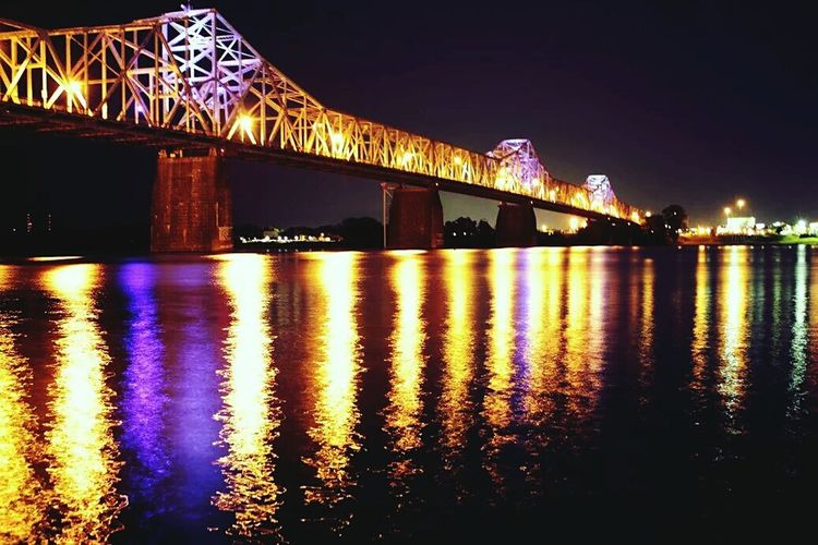 Louisville Louisvilleky Louisville, Kentucky River Water Reflections Ohio River Bridge