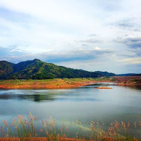 Lovely view at khundan dam #travel #thailand #takenphotographybyme