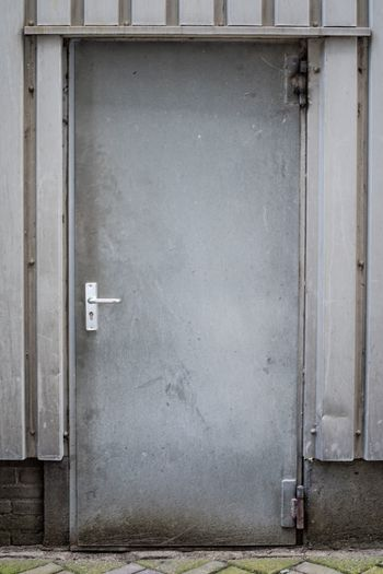EyeEm Selects Grey Door Industrial Industry Industrial Photography Built Structure No People Building Exterior Close-up Outside Nikon Nikond750
