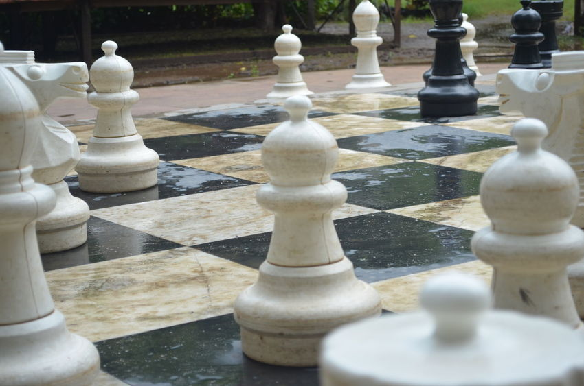 #Giants Chess Chess Board Chess Piece Close-up Competition Day King - Chess Piece Knight - Chess Piece Leisure Games No People Outdoors Pawn - Chess Piece Queen - Chess Piece Strategy