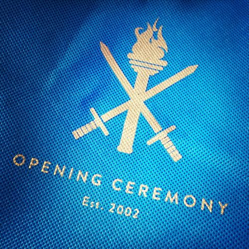 Opening Ceremony USA Logo Fashion