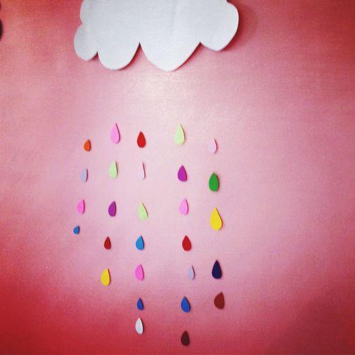 paperart, cloud, paper rain, Design, Paper Design
