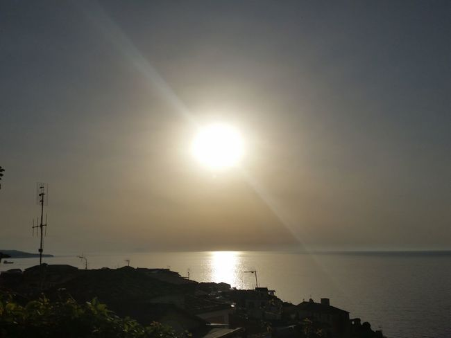 Sun Sunlight Nature Beauty In Nature Tranquility No People Italy_vacations Calabria Italy Sunset Sun Sea Season Summer