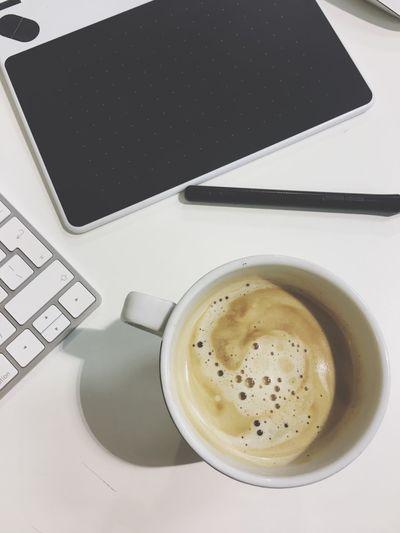 Working hard Coffee - Drink Working Hard Wacom