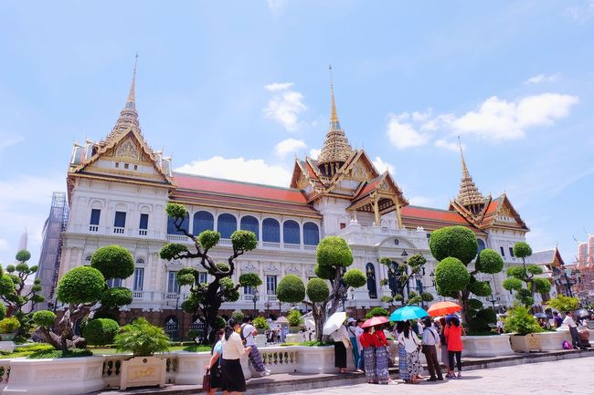 royal grand palace Thailand Royal Royal Grand Palace Grand Palace Bangkok Thailand Grand Palace Architecture Thai Architecture Art Thai Art Tourism Tourist People Building Building Exterior Old Ancient History Religion Sky Architecture Building Exterior Travel Historic King - Royal Person Royal Person Royalty History Pavilion Palace
