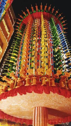 Kolkata Durgapuja 2015  Pandals Late Night Pic  Festive Season Colourful Kites Theme