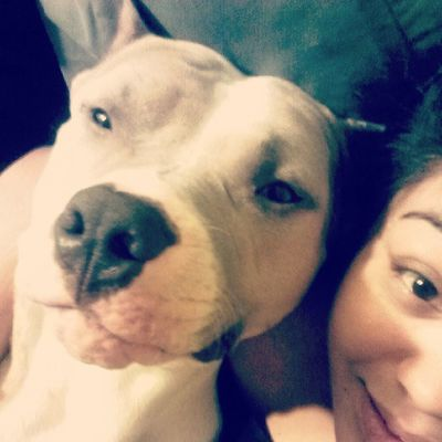 Dro and I watching Animal Planet(: