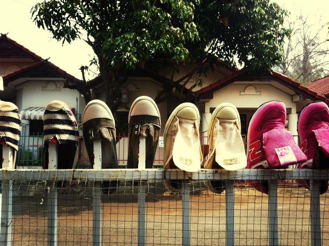 ? shoes exhibition??