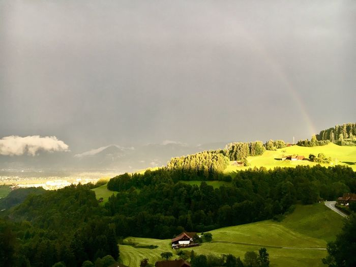 Beauty In Nature Nature Scenics Landscape No People Cloud - Sky Switzerland Green Color Awesome