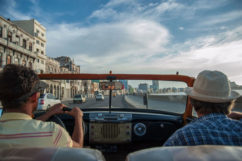 1970s American Cars Beautiful Sky Cuba Cuban Lifestyle Enjoying The View Habana Enjoying Life Historic Car Malecón, La Habana Old Car Old Mobile Salsa Son Still Life Travel Destinations Vintage Cars