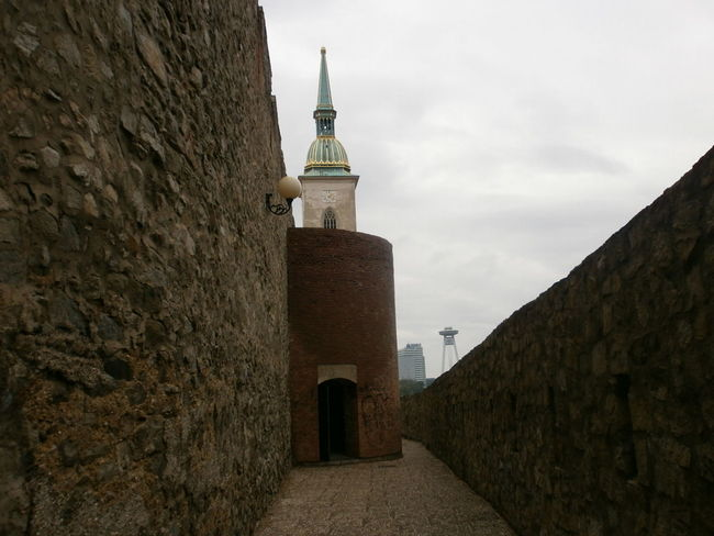 Old and New Architecture Building Exterior Built Structure Church City Wall History No People Old Nad New The Secret Spaces Tower EyeEmNewHere Bratislava, Slovakia Bratislava Bratislava City!