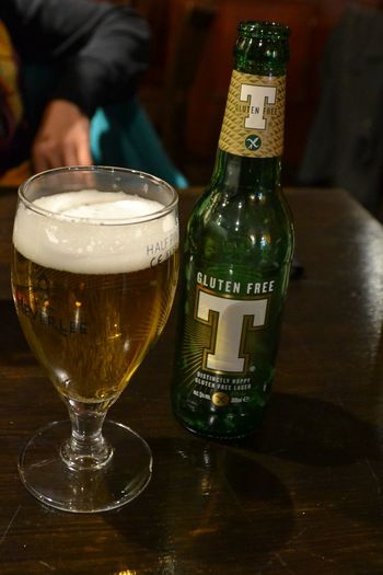 Alcohol Drink Drinking Glass Bottle Beer - Alcohol Glass - Material Indoors  Beer Glass Food And Drink Close-up Wine Frothy Drink Celebration No People Day Tennents Gluten Free Pub