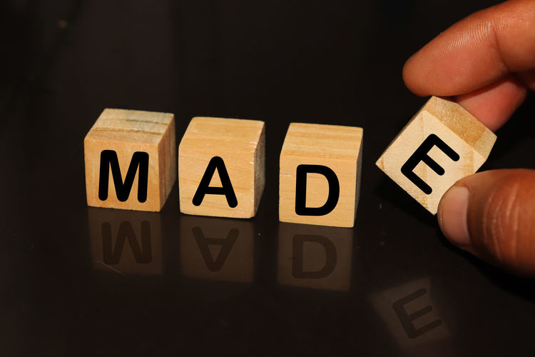 MADE made with