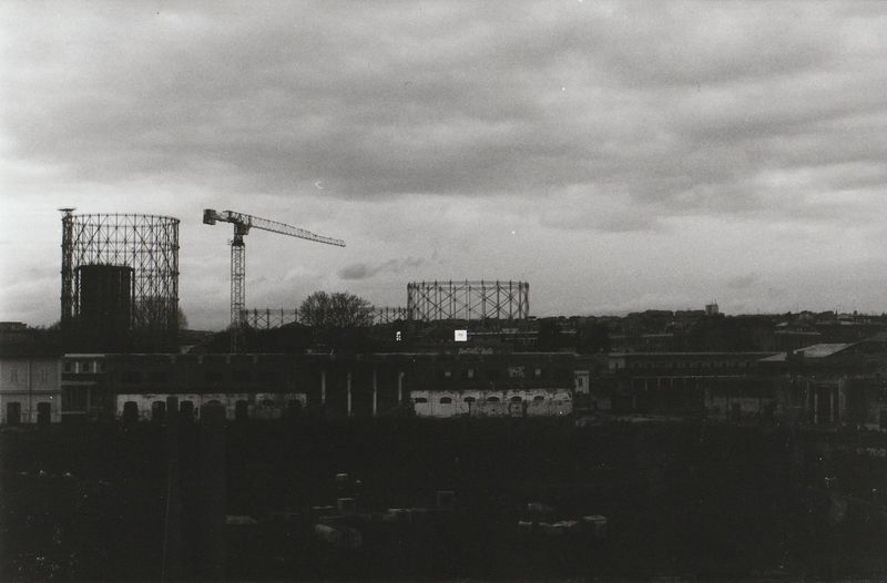 Industrial Industrial Photography Ostiense Rome Urban Exploration Architecture Blackandwhite Built Structure Day Gazometro Industrial Landscapes No People Outdoors Sky Street Streetphotography Urban Archeology Urban Landscape Urban Skyline Moving Around Rome