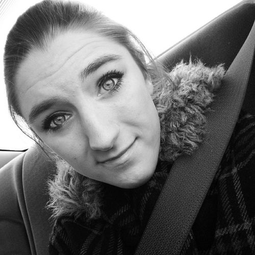 Not everything should be in colour. ♥❄ PrettyEyes PrettyMe Hairup CarRide smile lovemyeyes followme follow heartit doubletap likeit likethispic lovingnewinstagram lovely loveit beautiful beauty gorgeous