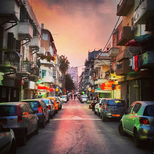 Tel Aviv My Best Photo 2014 City Evening Sky Streetphotography Colors Urban Landscape Colour Of Life The Street Photographer - 2017 EyeEm Awards Sommergefühle Mobility In Mega Cities
