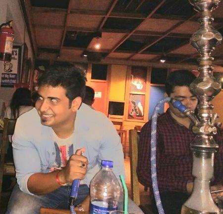 My Bar Hukka Party Time Young Adult Loud Music Delhi Bar Nightclub Freshness Roaming Around Nightphotography Hello Word✌