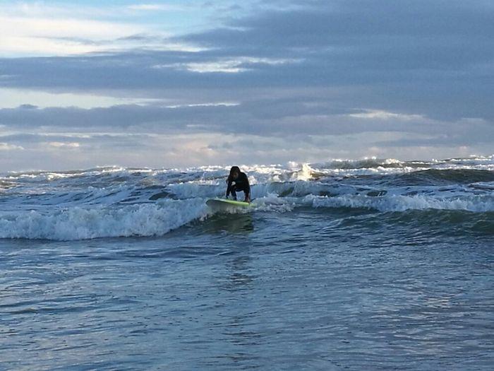 Sea Nature Outdoors Surfing Wave Child Sport Auckland New Zealand Beach New Zealand BethellsBeach Te Henga New Zealand😍