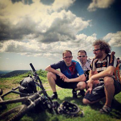 Over the Mountains Friends Mountainbiking tour mountainman lúz lausche czech & germany