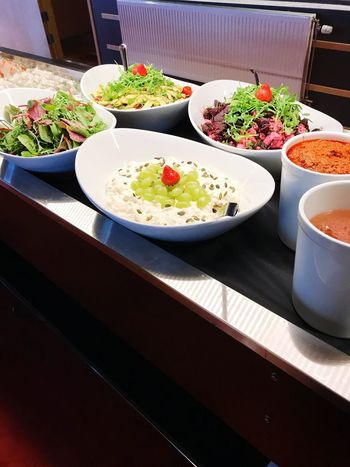 Food And Drink Food Indoors  High Angle View Bowl Table Freshness Healthy Eating Serving Size Ready-to-eat Salad Plate Garnish No People Close-up Day