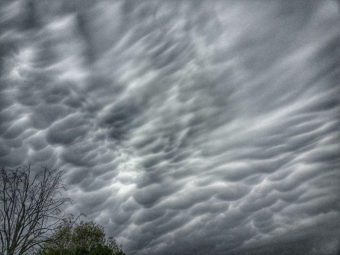 Omaha Clouds Tornado Alley Tornado Warning