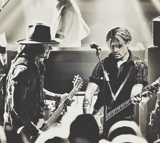 Johnny Depp Love Rock'n'Roll Music