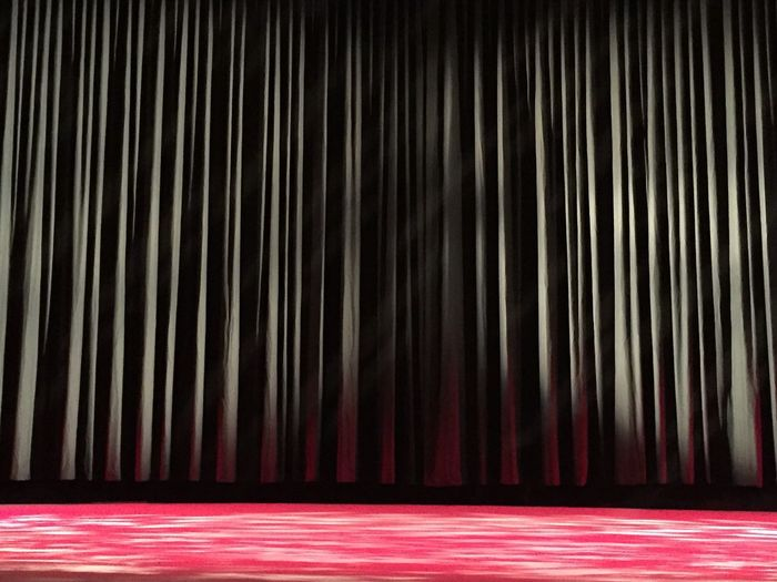 Stage - Performance Space Stage Performance Arts Culture And Entertainment No People Stage Theater Red Performing Arts Event Indoors  Backgrounds Movie Theater
