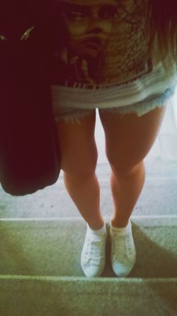Today Outfit Shorts Legs Fashion