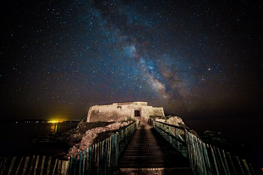 Milky Way in France Night Milky Way France Toulon Hyères Astrophotography Filmaker First Eyeem Photo
