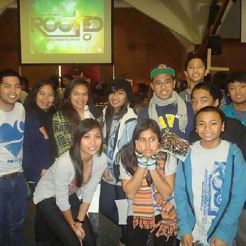 Throwback to 2010! HAPPY BIRTHDAY JeniKKa! Closest thing I had to a picture of us LOL. #Christmasinstitute #cisocal #rooted #familygroup Christmasinstitute Familygroup Rooted Cisocal