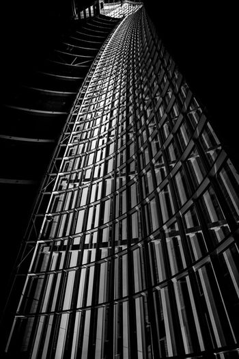 Abstract Abstract Photography Architecture Black And White Building Exterior Built Structure City Curves Day Fine Art Photography Futuristic Futuristic Illuminated Indoors  Lines Low Angle View Marina Bay Sands Modern No People Pattern Singapore Sky Skyscraper