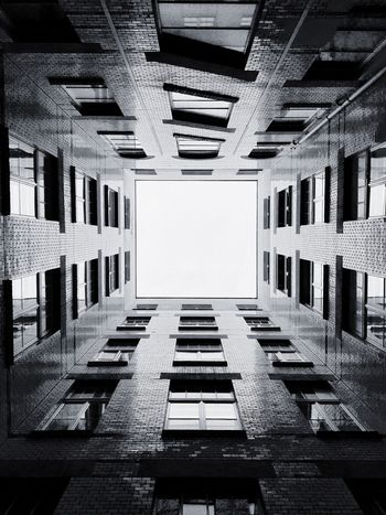 Sky Courtyard  Built Structure Building Building Exterior Architecture Window Berlin Architecture No People Day City