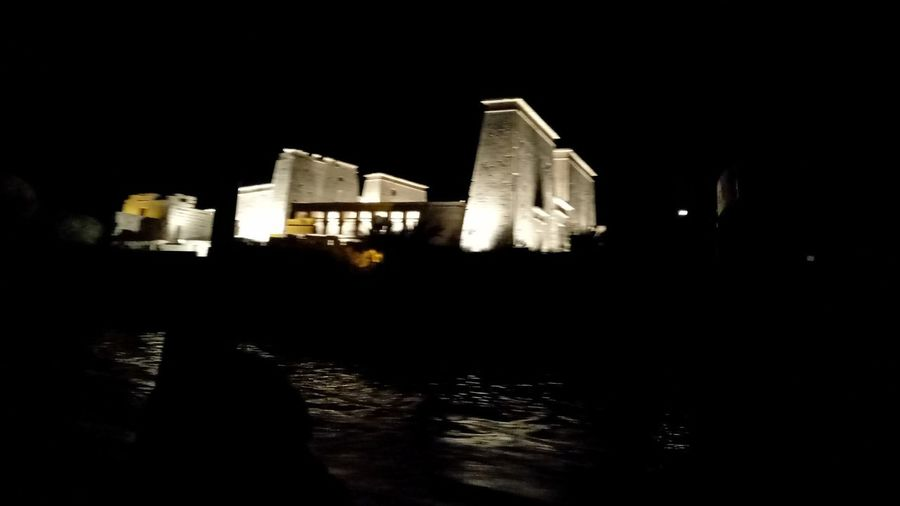 @egypt @luxor Architecture Building Exterior Built Structure Egypt Illuminated Luxor Luxor_temple Night No People Outdoors Reflection Sky Water First Eyeem Photo