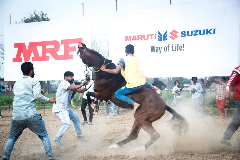 The Photojournalist - 2017 EyeEm Awards Kila Raipur Punjab India Festival Competitive Sport Horse Racing Competition Outdoors Men