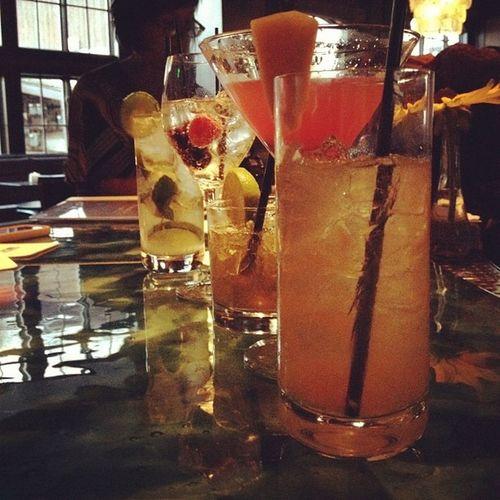 {instagram post} cocktail tasting at Frost #vailsummer #girlsgonevail #travel #food Food Travel Girlsgonevail Vailsummer