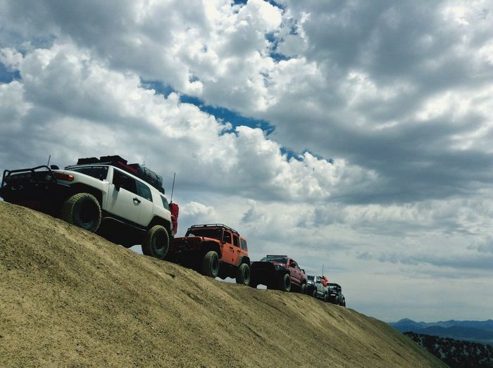 Off Roading Off Road Toyota Jeep Jeep Life Outdoors Utah County Nature_collection EyeEm Nature Lover Harmony With Nature Mountains And Sky Cloud - Sky
