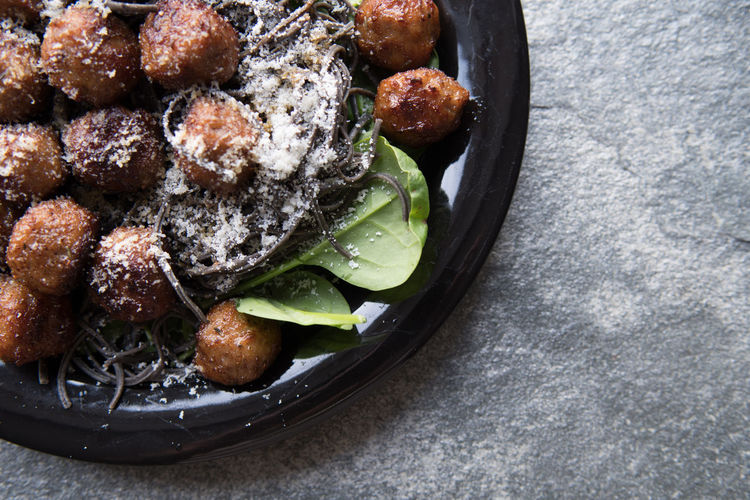 Swedish meatballs Meatballs Scandinavian Food Close-up Day Directly Above Food Food And Drink Freshness Healthy Eating Indoors  No People Ready-to-eat Serving Size Skillet- Cooking Pan SLICE Swedish Food Swedish Meatballs