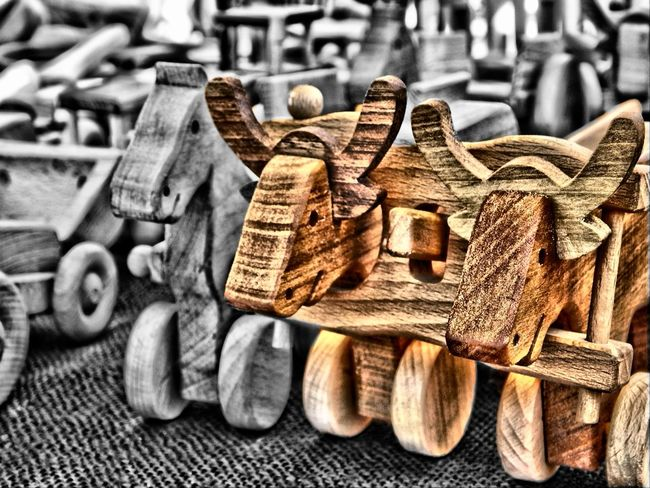 Two little tiny Calf Eyeem Hungary Popular Photos Taking Photos Woodtoys Handmade Woodworking WoodArt Toys Toysphotography