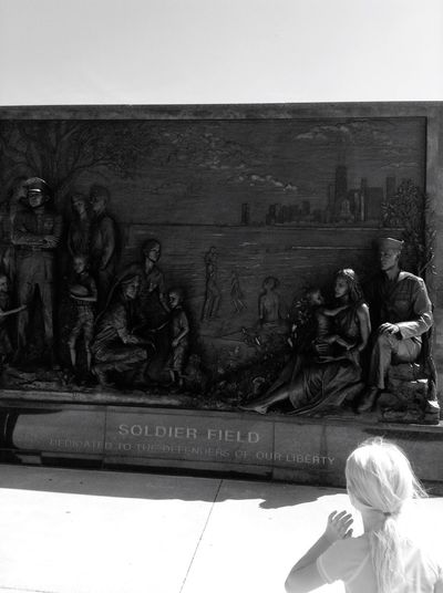 Soldier Field People Together Memorial