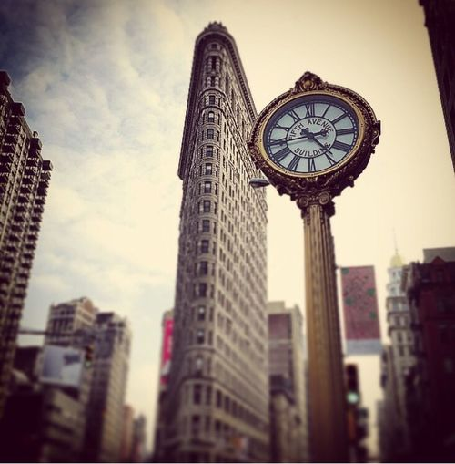 NYC Clock Flatiron Building Architecture Building Gregphoto New York Eyemphotos