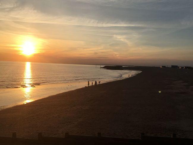 Sunset Sea Beach Water Sand Sun Beauty In Nature Scenics Sunlight Tranquility The Week On EyeEm