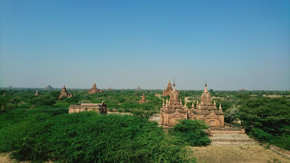 Silvia In Myanmar Bagan In Myanmar Temples Landscape Myanmar Traveling My Year My View